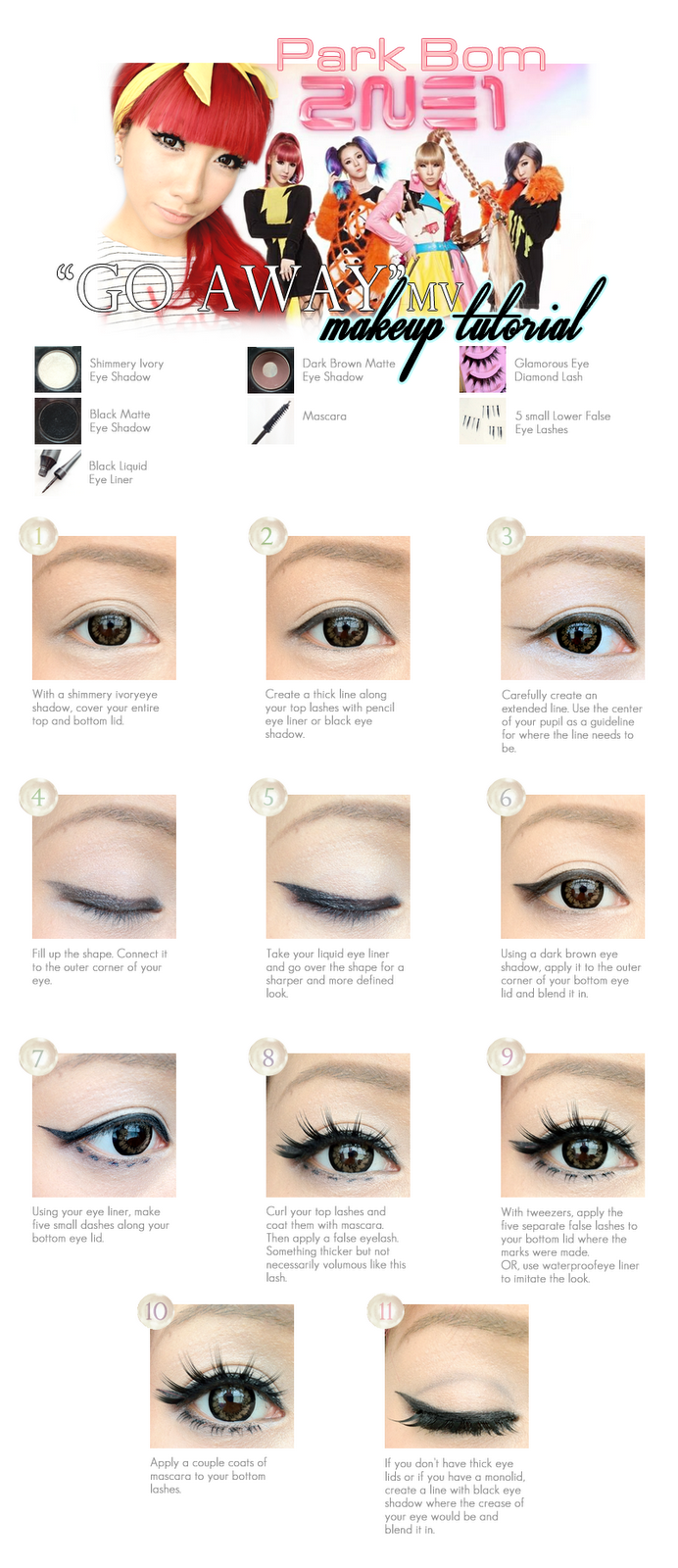 Puppy eye makeup tutorial choice image any tutorial examples brown lens korea dolly eyes makeup tutorial from april fool romance to baditri choice image baditri Choice Image